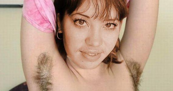 самые волосатые в мире подмышки женские все фото