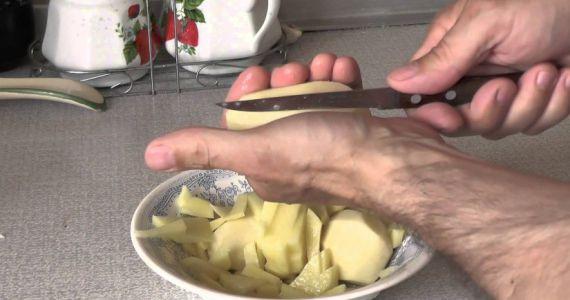 Фото Во сне кушать жареную картошку