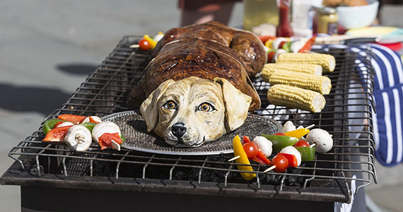 Во сне видеть что собаку едят